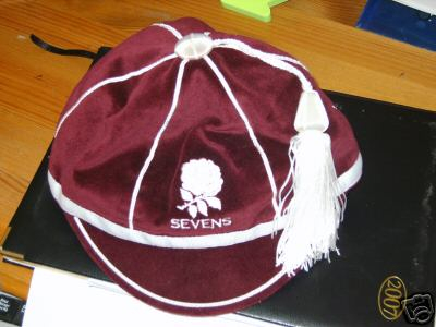 England Rugby Sevens Rugby Cap