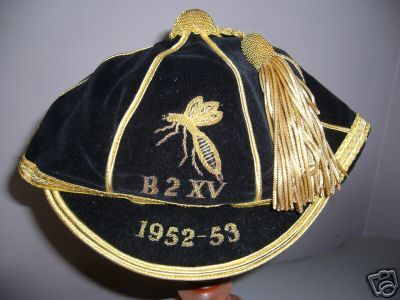 Wasps RFC 2nd XV Club cap 1952-53