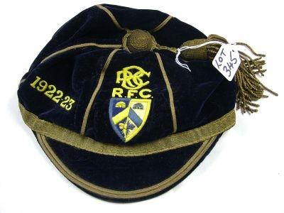 Bath Rugby Cap 1922-23