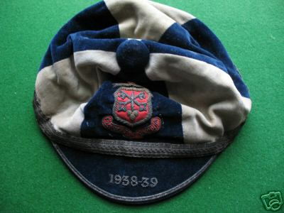 Oxford RFC Cap 1938-39