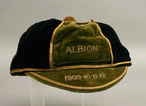 Plymouth Albion Rugby Cap 1909-1912