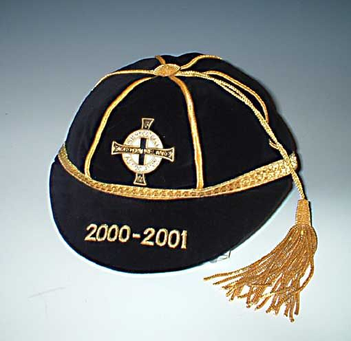 Northern Ireland Football Cap 2000-2001