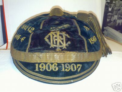 Ulster Rugby Cap 1906-07