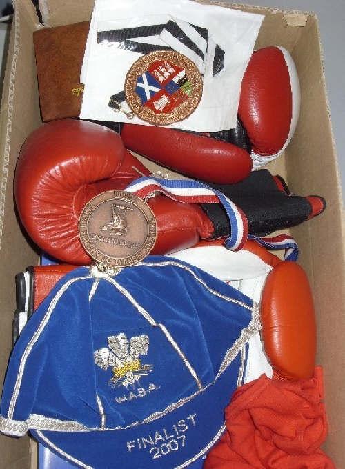 Wales Boxing Cap