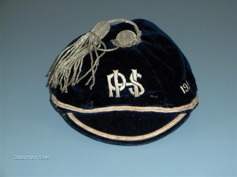 1927 New Zealand High School PHS New Zealand Rugby Cap