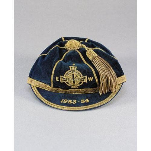 Northern Ireland International Football Cap 1953-54