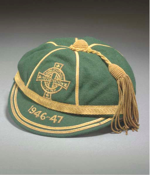 Eddie McMorran's Northern Ireland Football Cap 1946-47