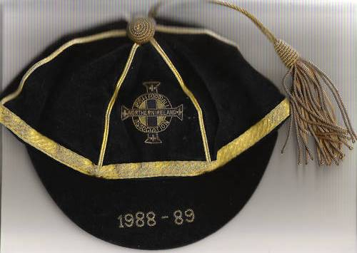 Northern Ireland Football Cap 1988-89