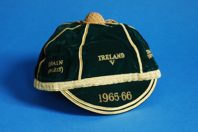 Republic of Ireland Football Cap 1965-66
