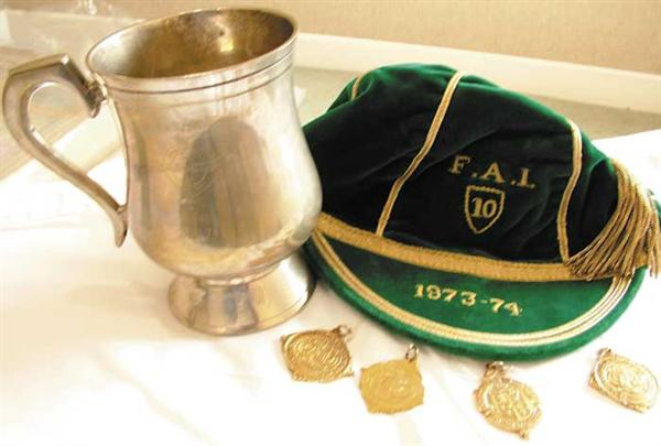Paddy Mulligan Republic of Ireland Football Cap 1973-74