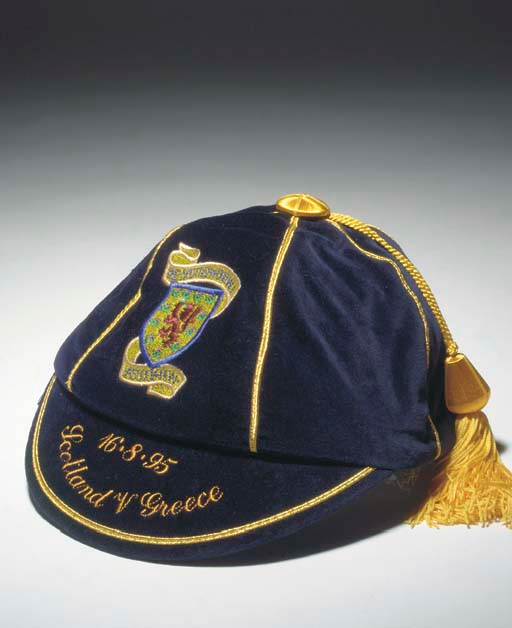 Scotland Football Cap v Greece 1995