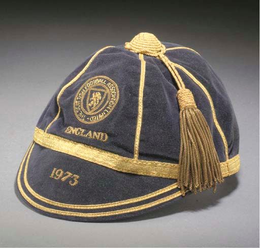 Willie Morgan's Scotland Football cap v England 1973