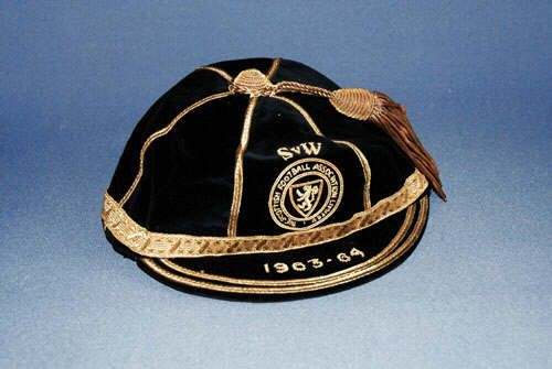 Scotland International Football Cap v Wales 1963-64