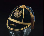 Billy Bremner Scotland Football Cap 1970