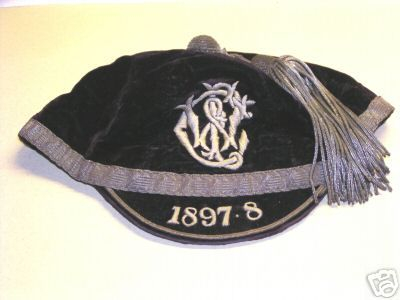 West Lothian Club Cap 1897-8 Scotland