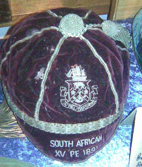 South Africa Rugby Cap 1891