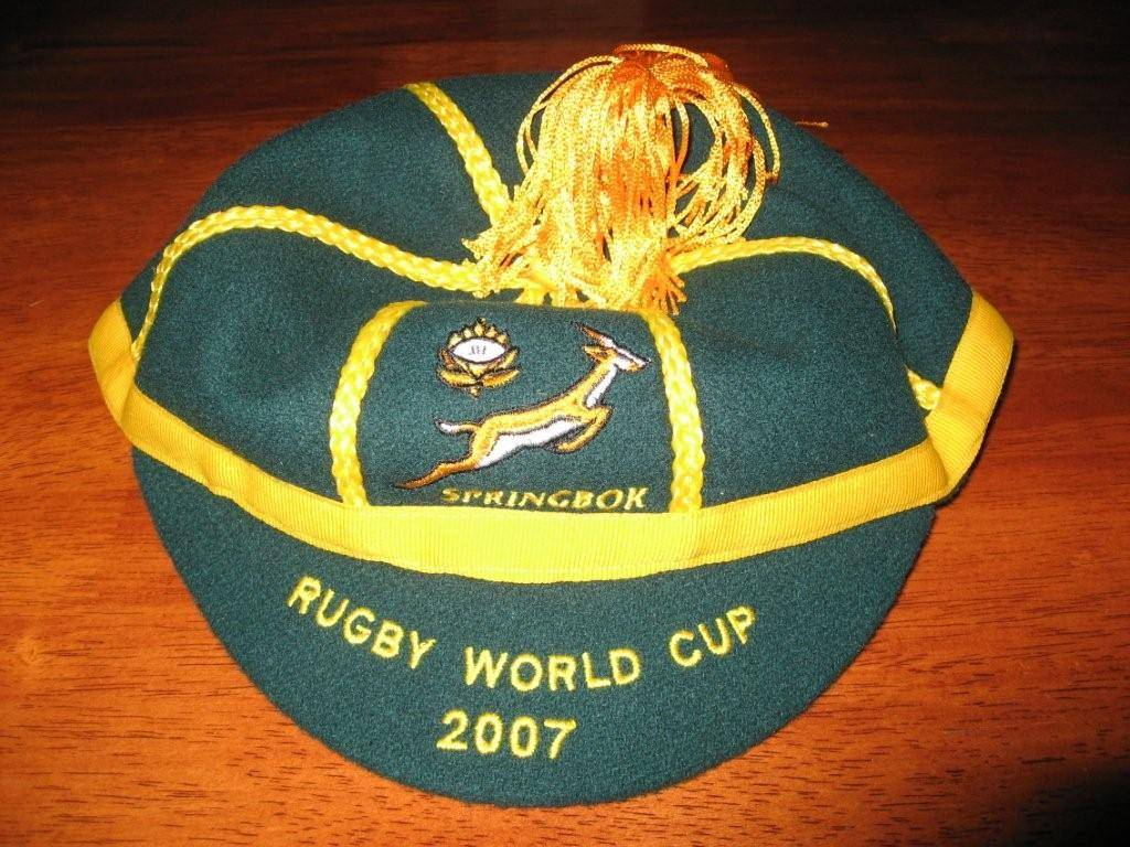 South Africa Rugby World Cup Cap 2007