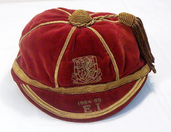 Ray Daniel's Wales Football Cap 1954-55 season
