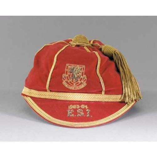 Wales International Football Cap 1963-64
