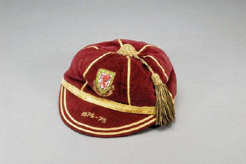 Gary Sprake's Wales International Football Cap 1974-75 season