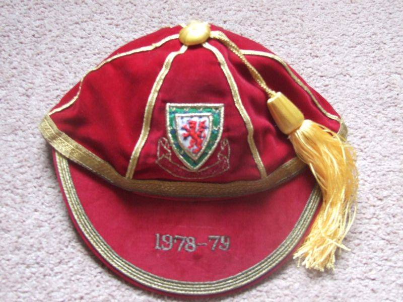 Malcolm Page's Wales International Football Cap 1978-79 season