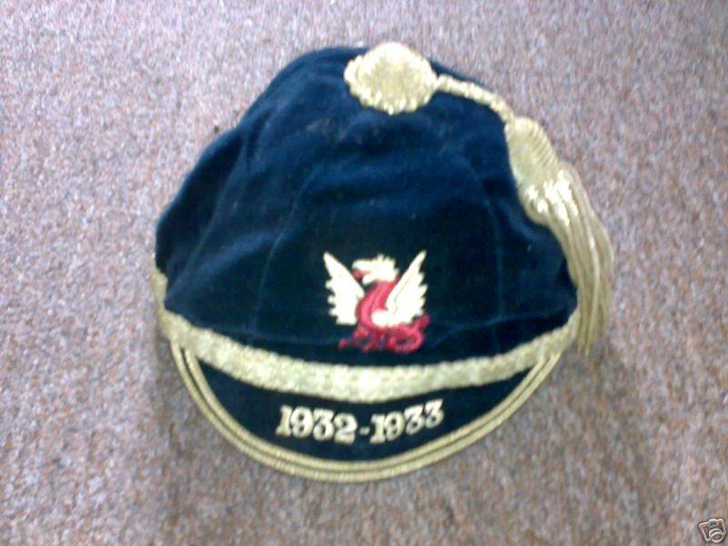 Llandovery College Rugby Cap 1932-33