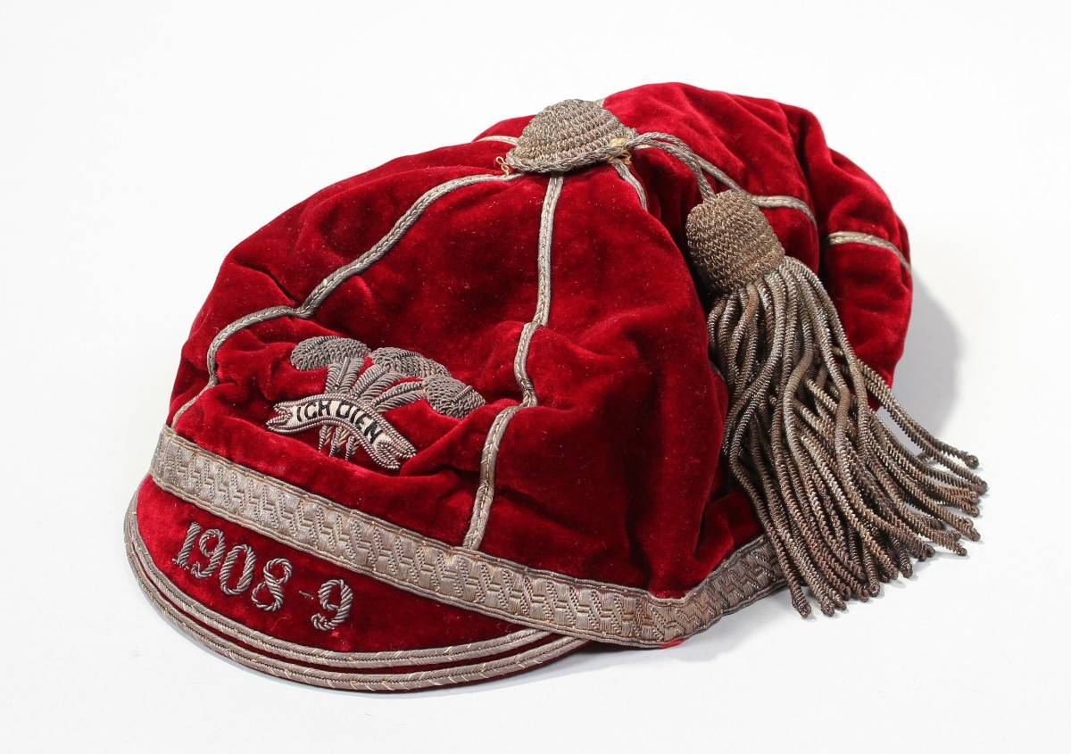 Bert Jenkins 1908 Wales Rugby League International Cap
