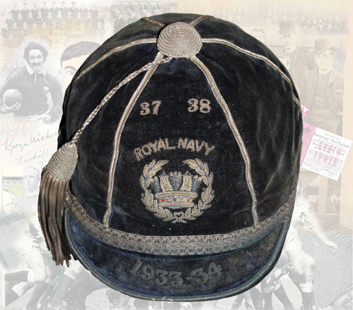 Royal Navy Honours Cap 1937-38