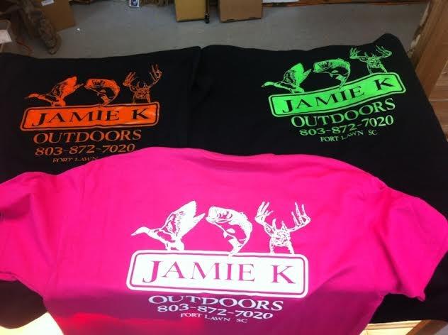 Exclusive Jamie K shirts