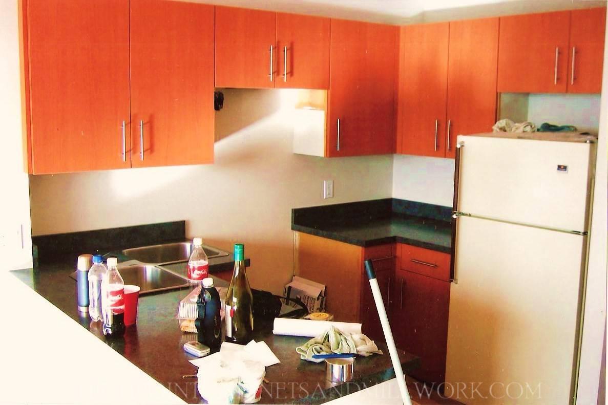 AFTER - Pearwood Flat Slab Kitchen