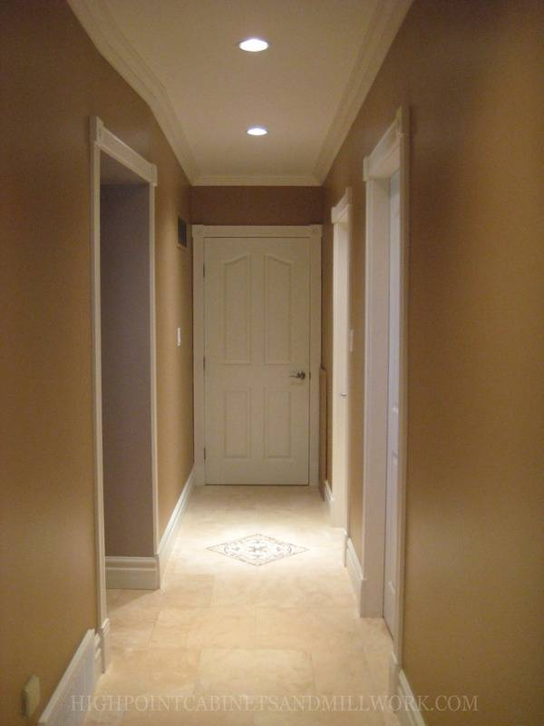 Doors, Casings, Crown and Baseboards