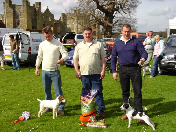 Best Jack Russell (right) and Reserve.