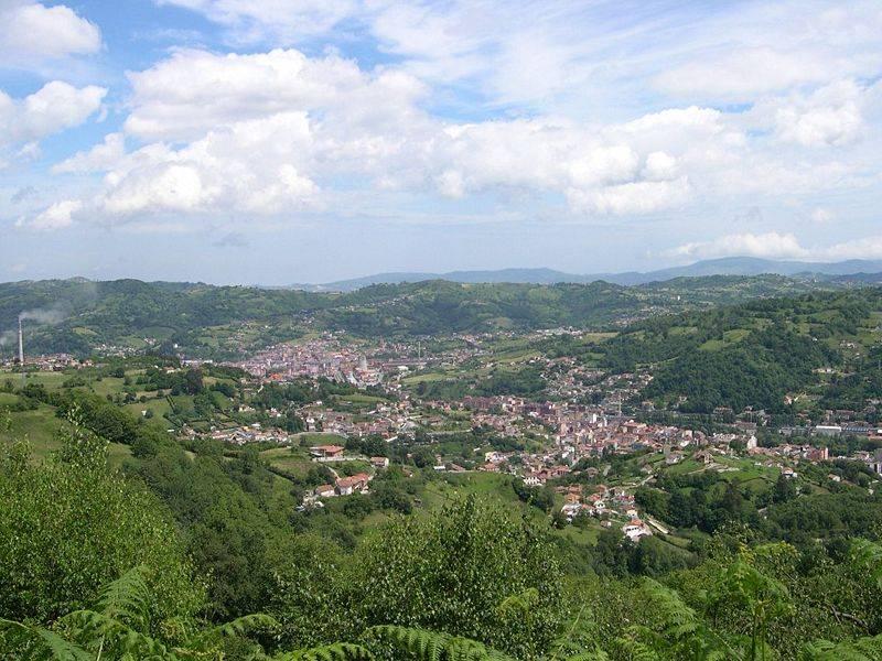 Vista general de Langreo