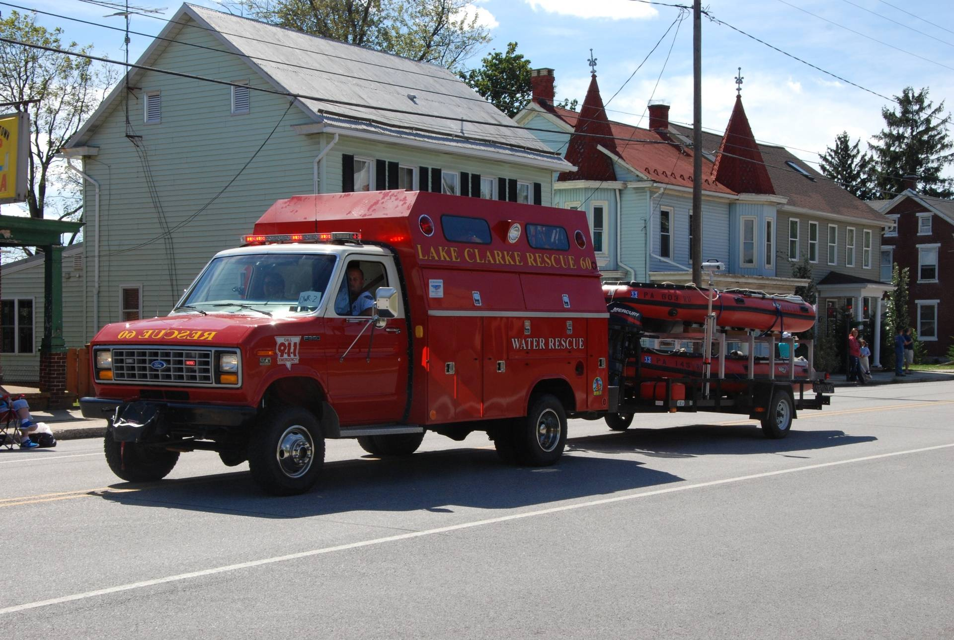 2012 Cumberland County Firemans Convention Parade