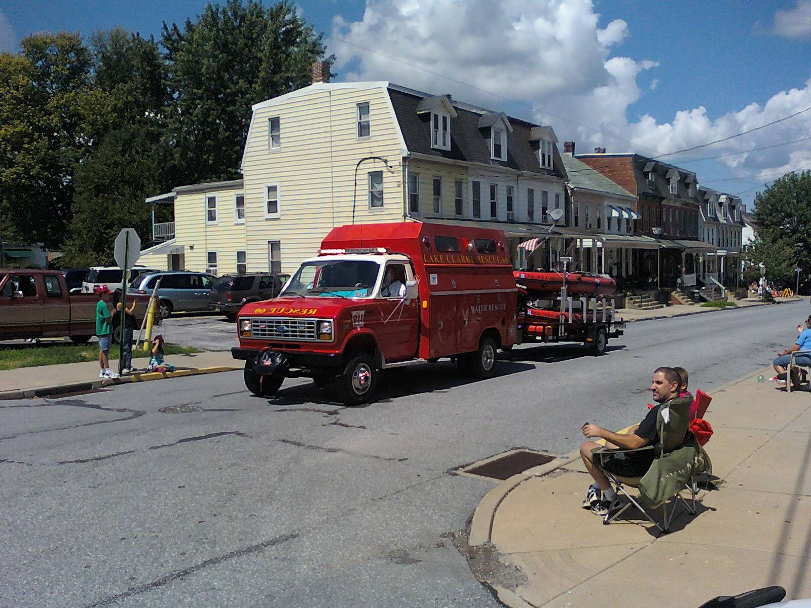 2012 York County Firemans Convention Parade