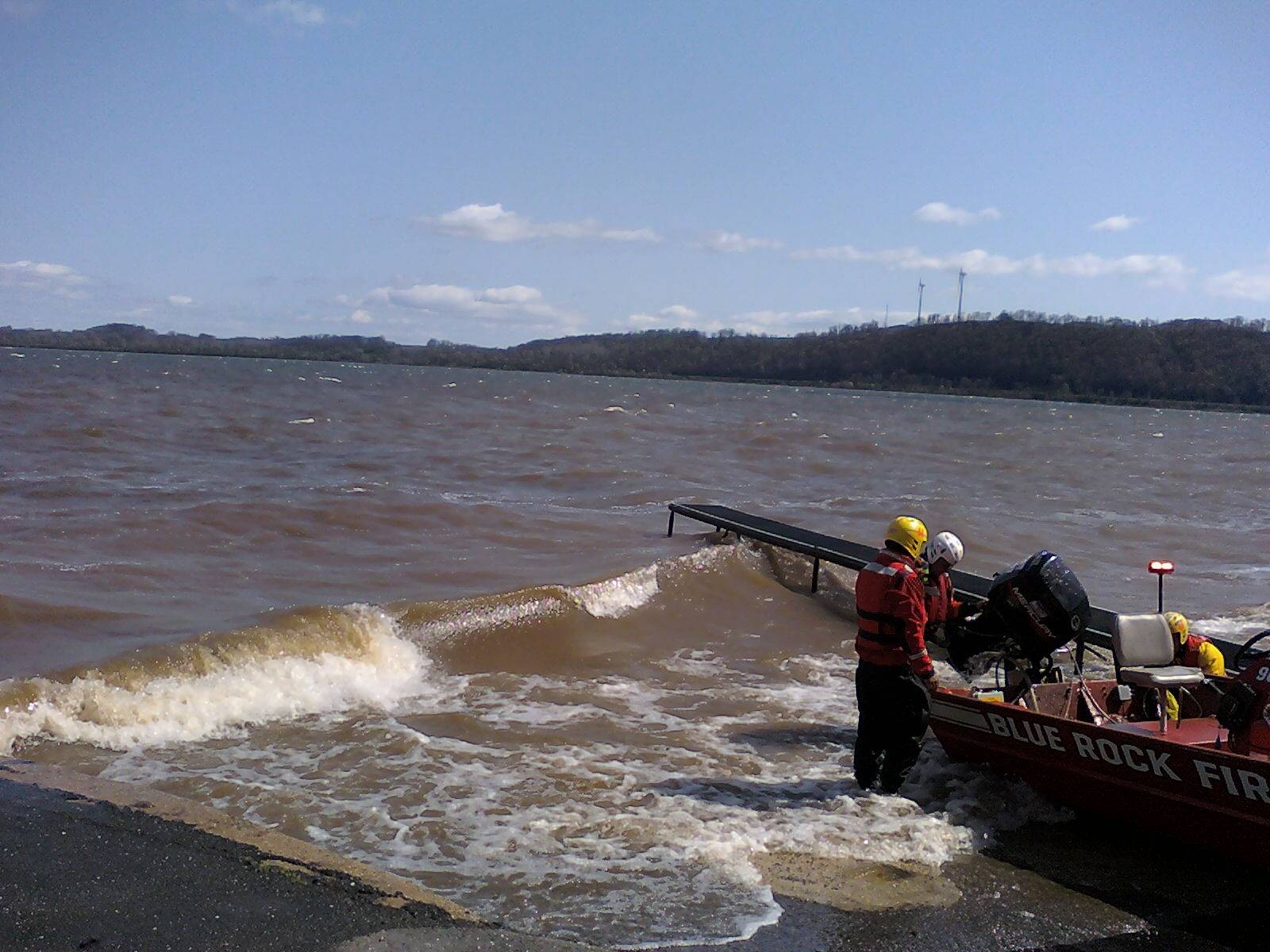 Water Rescue-Boat in Distress--03/26/2012