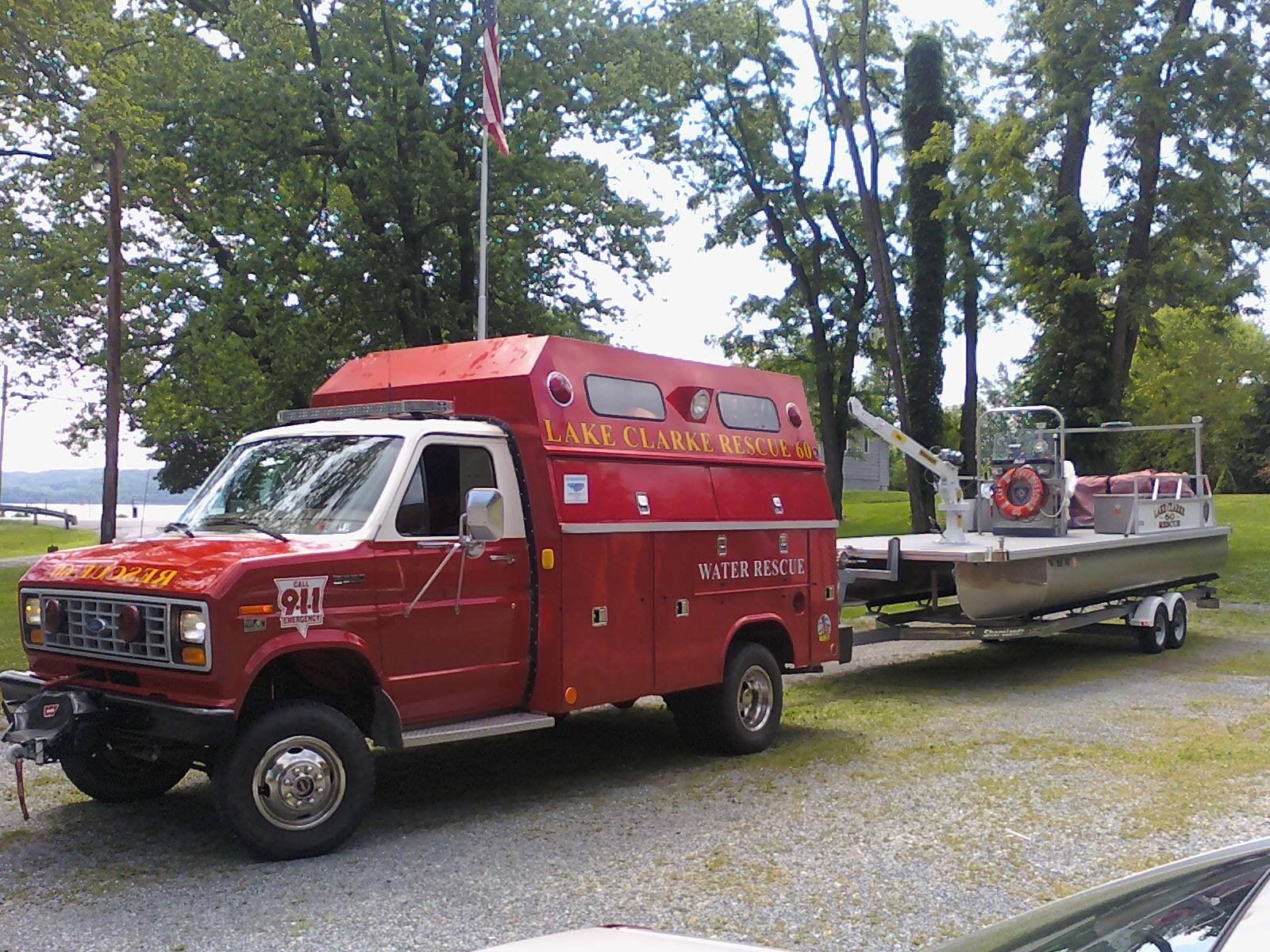 Rescue 60 and Boat 602