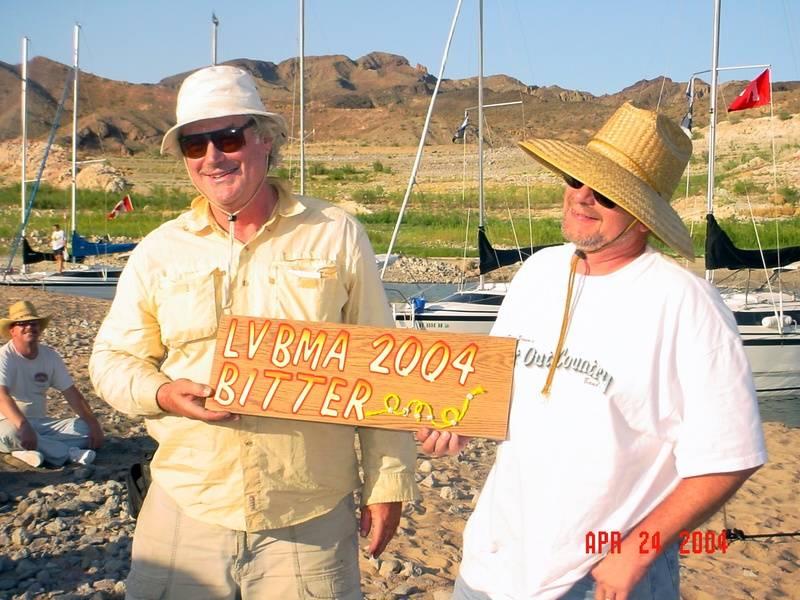 Presentation of the 2004 LVBMA BITTER end award