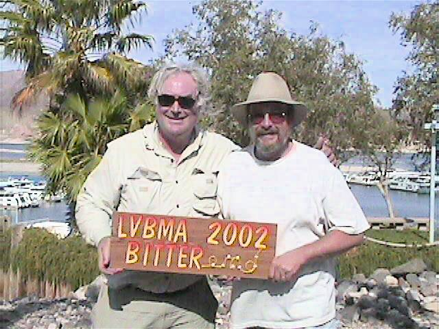 Presentation of the 2002 BITTER end Award