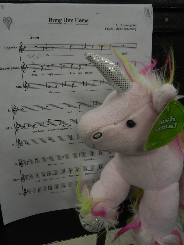 New Mascot/Choir Member
