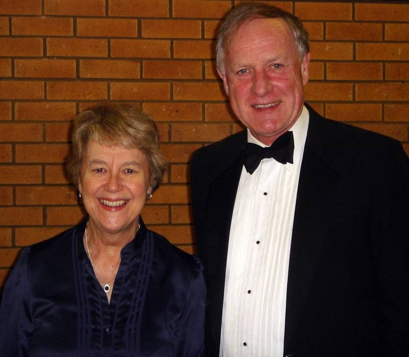 Janet Hicks and Howard Etherington