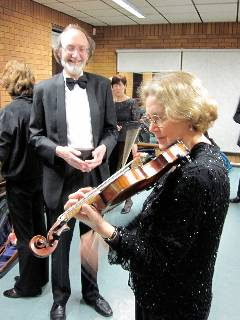 Janet Hicks - Lead Violin