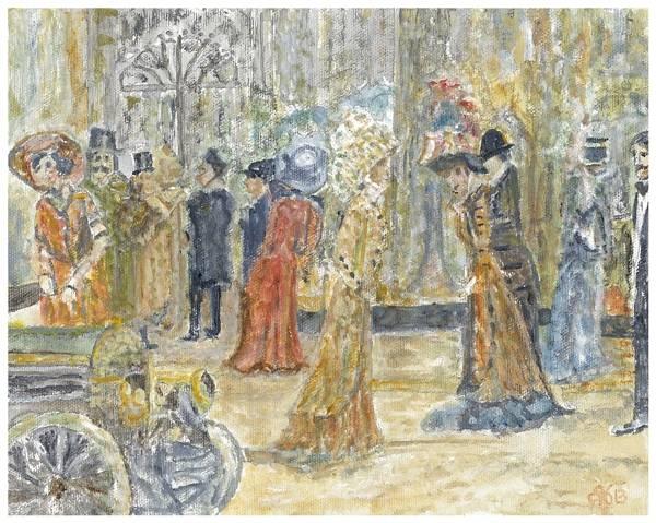 Harrods in 1834 - London, England