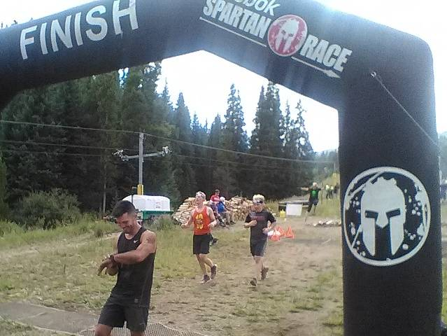 Finish Line - 13 miles & 33 obstacles