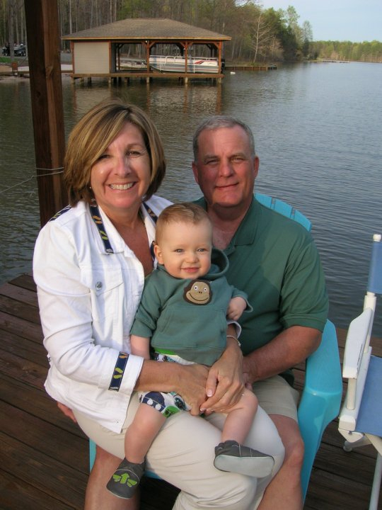 Brother Steve, Wife Kelly and grandson Cole