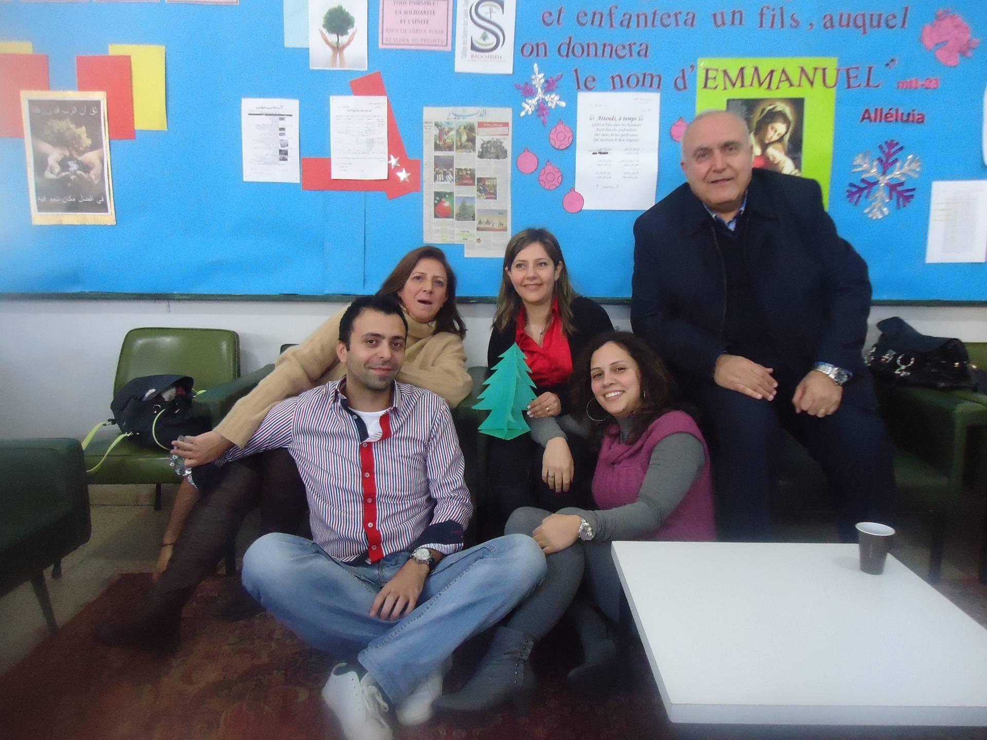 Noel, annee scolaire 2012-2013 profs
