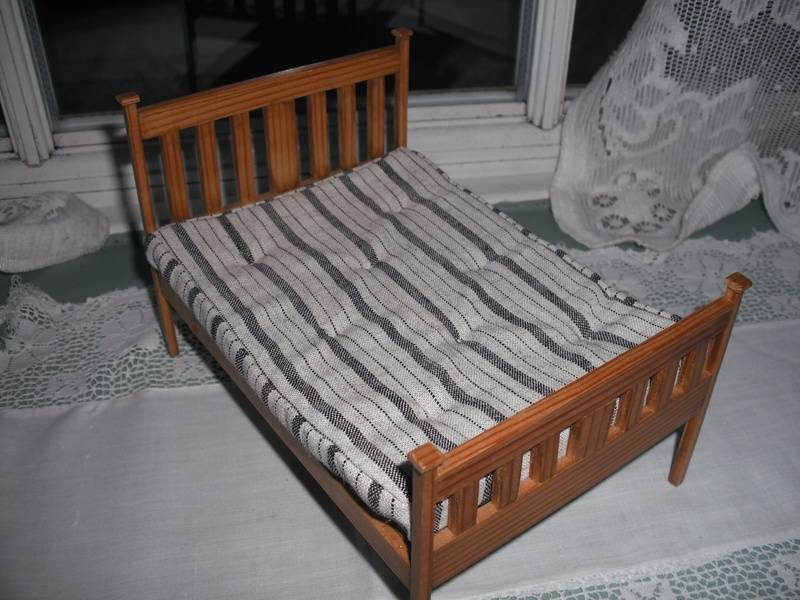 Not very old nice wooden bed