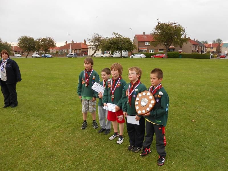 Cub District Sports winners 2012