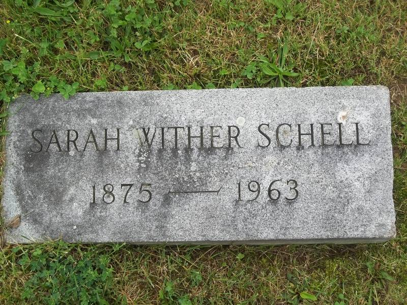 Sarah Wither Schell (1875-1963)