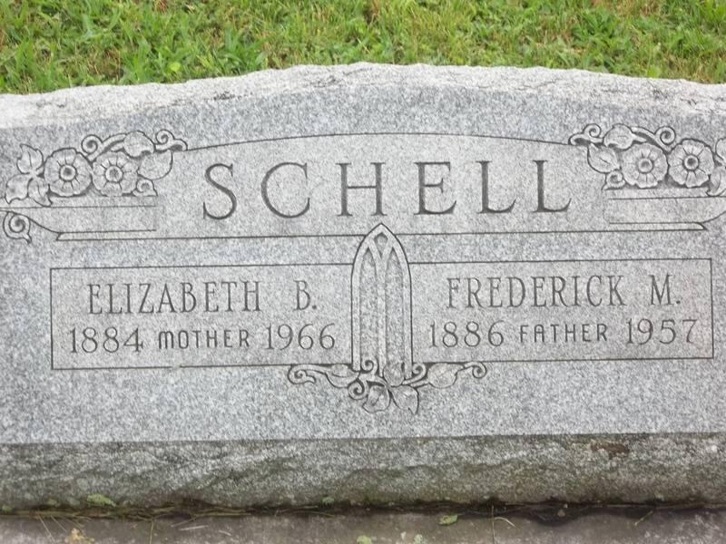 Frederick M. & Elizabeth Schell